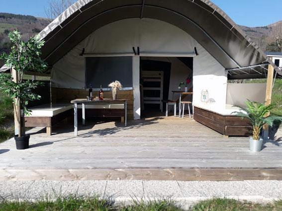 Tente écolodge