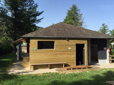 nouveau bloc sanitaires du camping