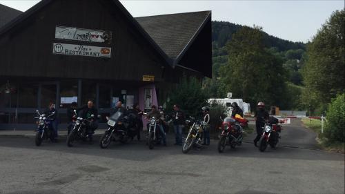 motos visite Ardéchoise 09-2016